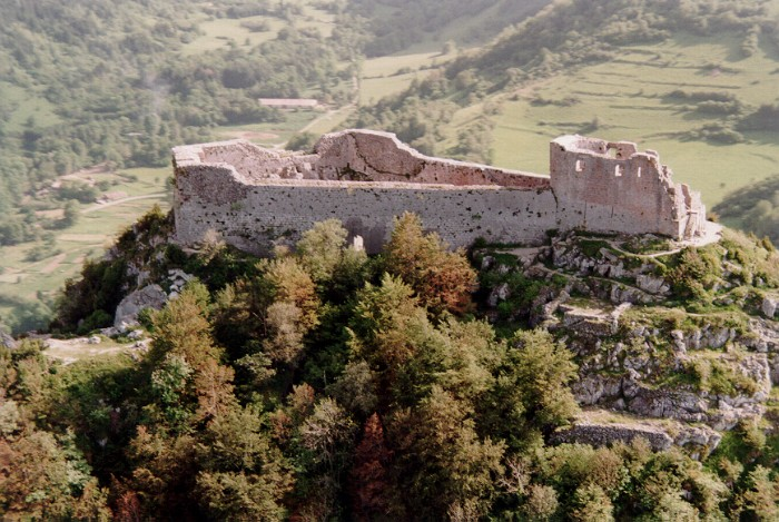 ruiny Montsegur
