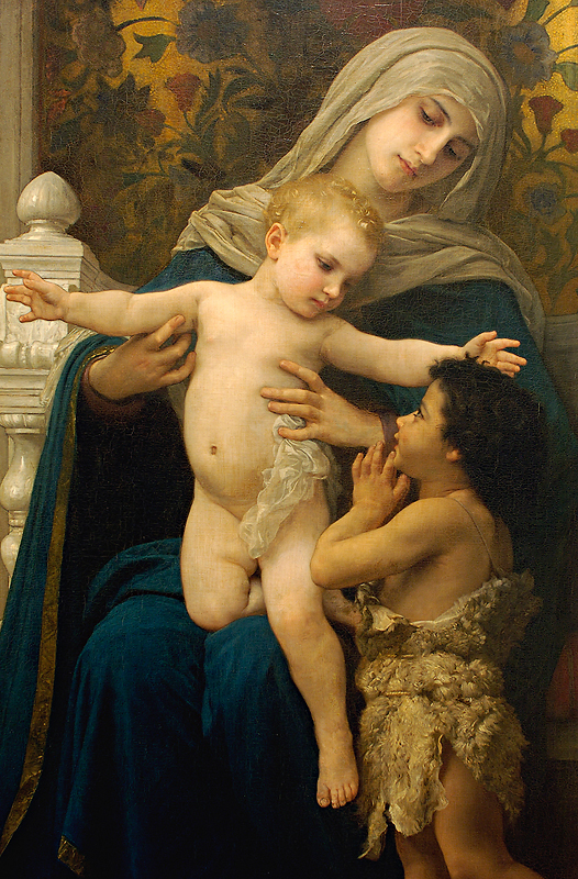 BOUGUEREAU_William_Madonna_The_Infant_Jesus_and_St_John_the_Baptist_Cornell_LS_d2h_2a